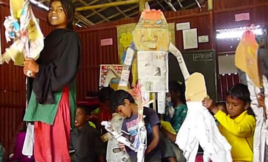 Soziokulturelle Kulturarbeit in Bangladesh