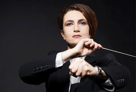 webdesign berlin Referenz: Maria Makraki, dirigentin, Conductor