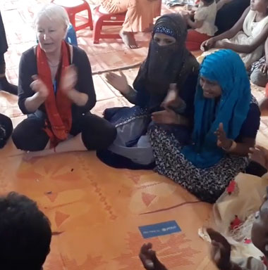 Rohingya Camp bei Cox Bazar